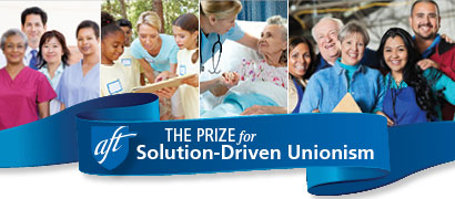 Solution-driven unionism prize banner
